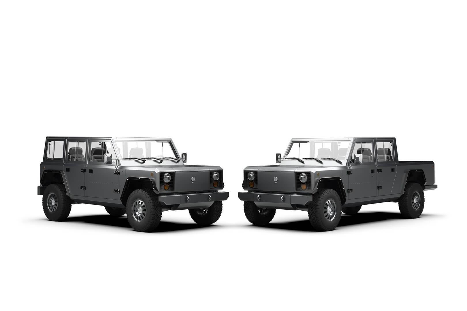 Электрический внедорожник Bollinger B1 и пикап B2