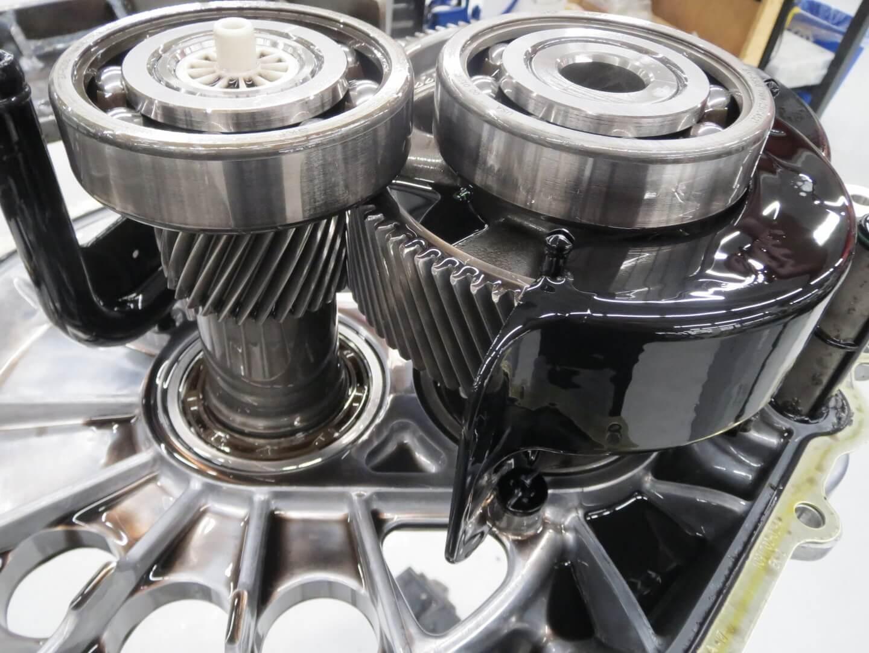 Система привода электромобиля Tesla Model 3прошедшая 1,6 млн км