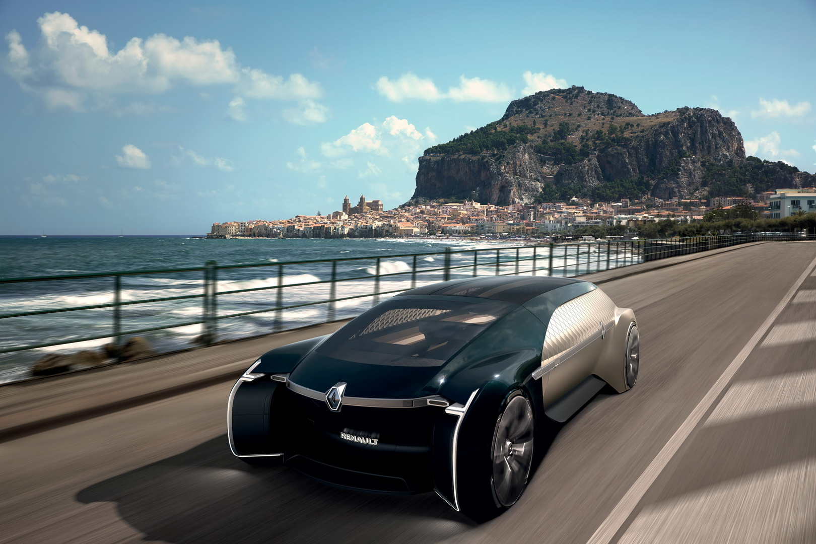 Автономный электрический робомобиль премиум-класса Renault EZ-ULTIMO