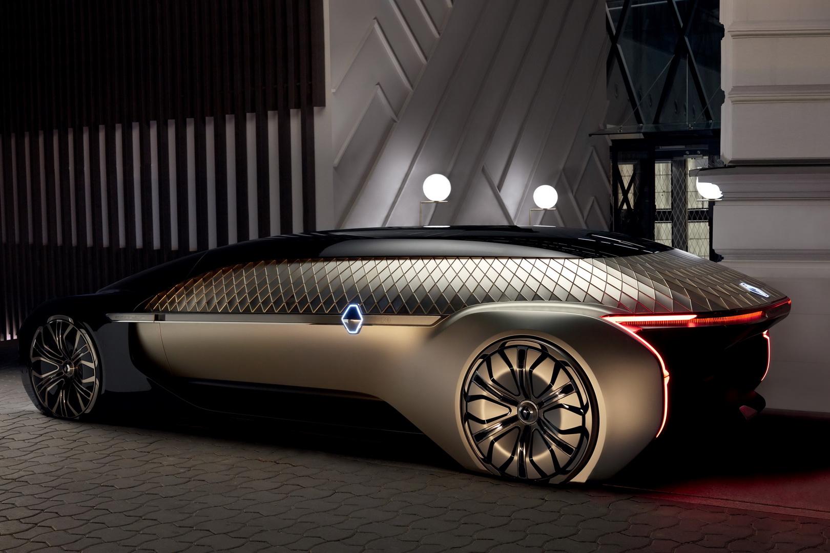 Renault представила роскошный электрический беспилотник EZ-Ultimo