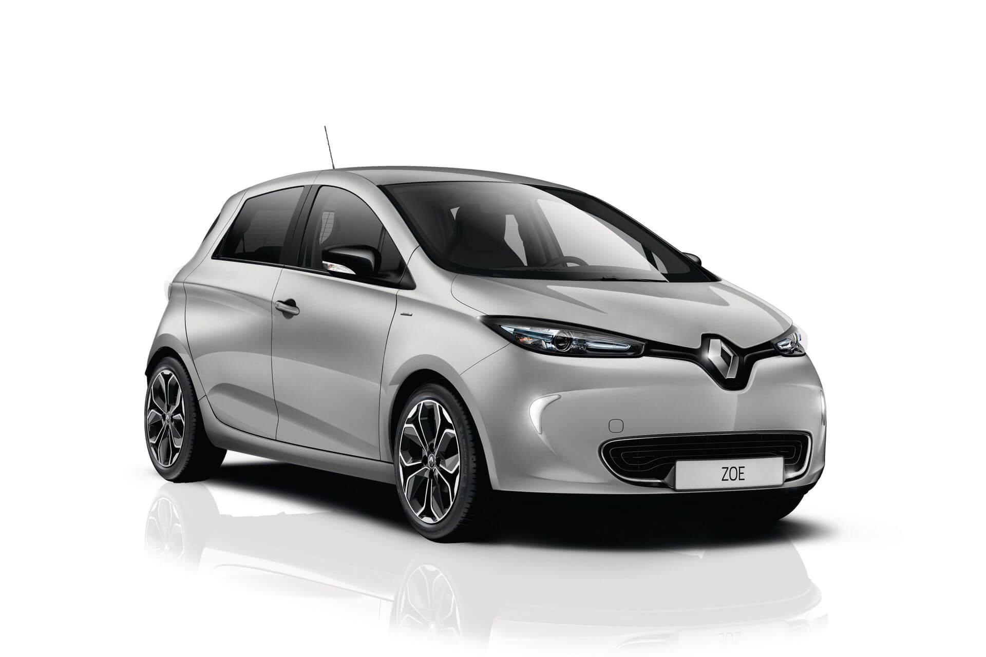 Ограниченная серия электромобиля Renault ZOE Iconic