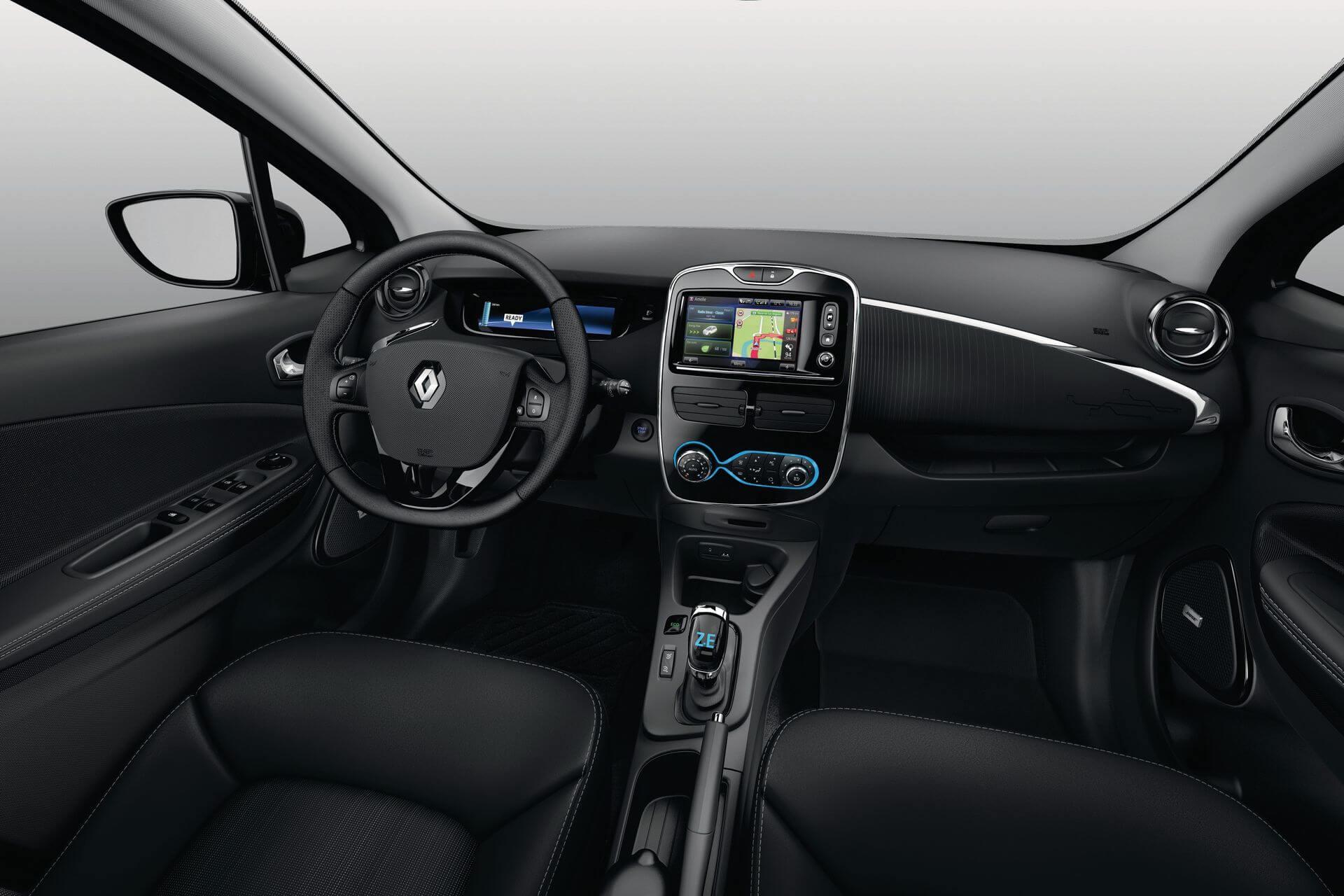 Интерьер лимитированной серии Renault ZOE Iconic