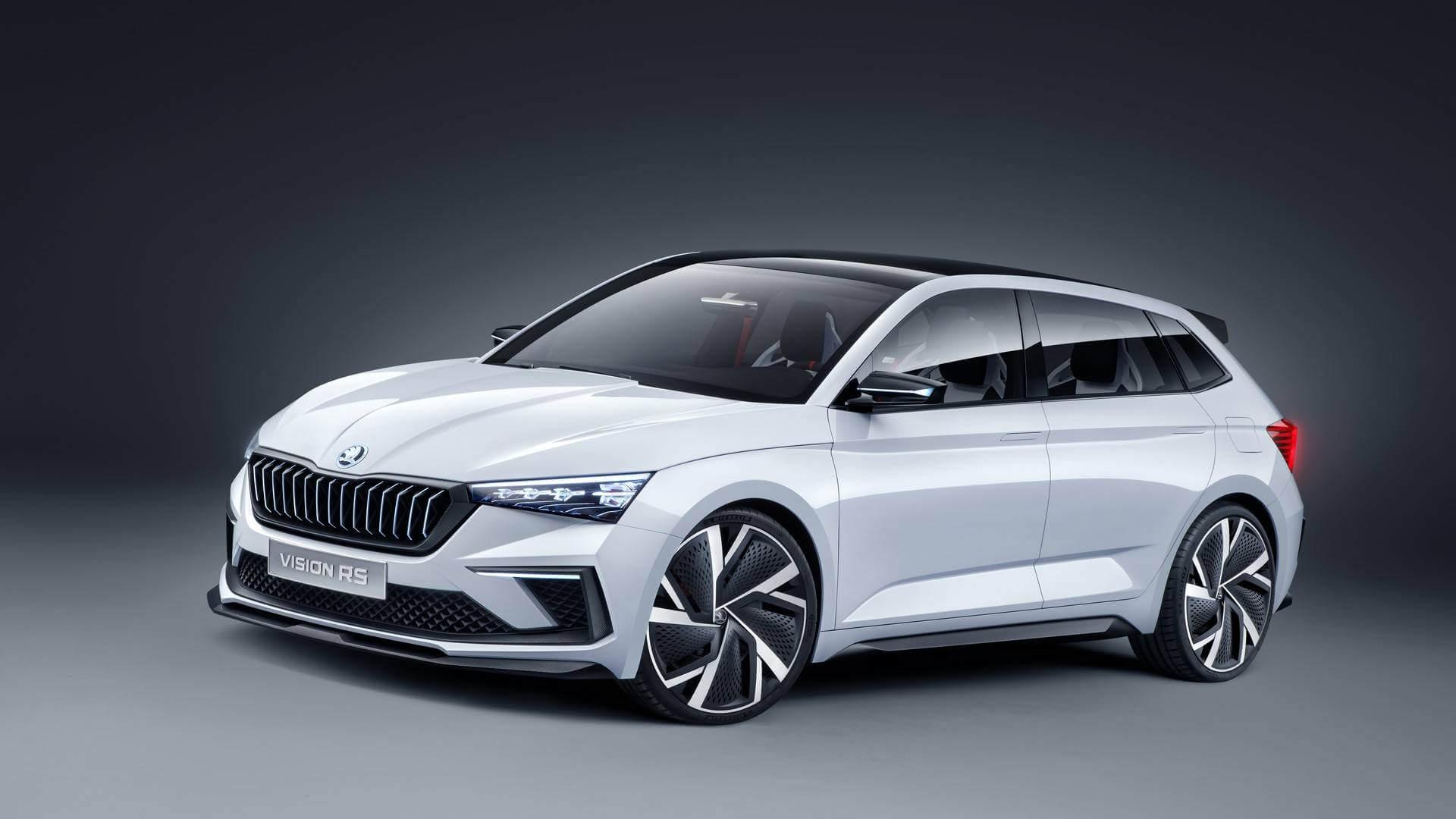 Концепт плагин-гибрида Škoda Vision RS