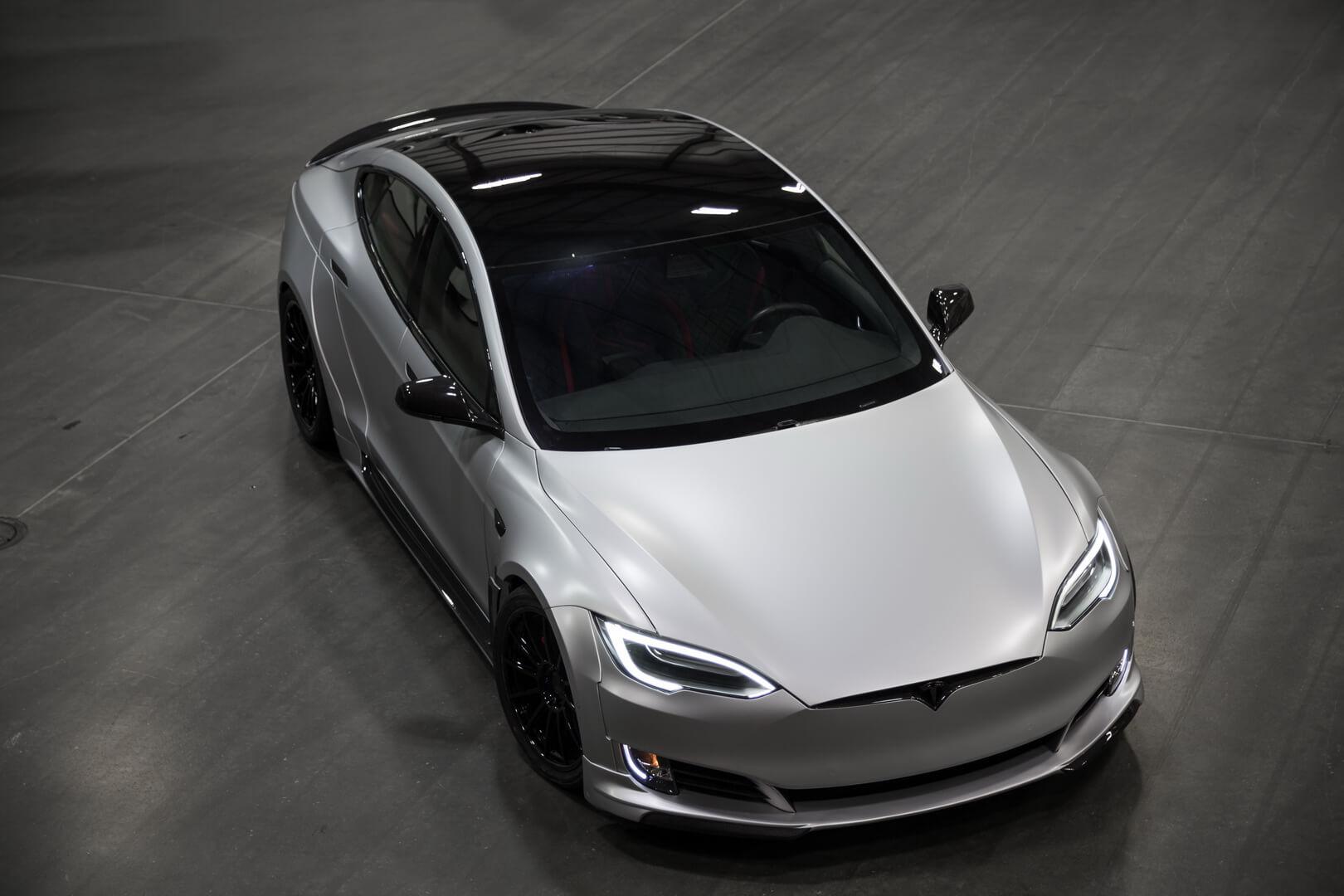Тюнинг Tesla Model SP100D отUnplugged Performance