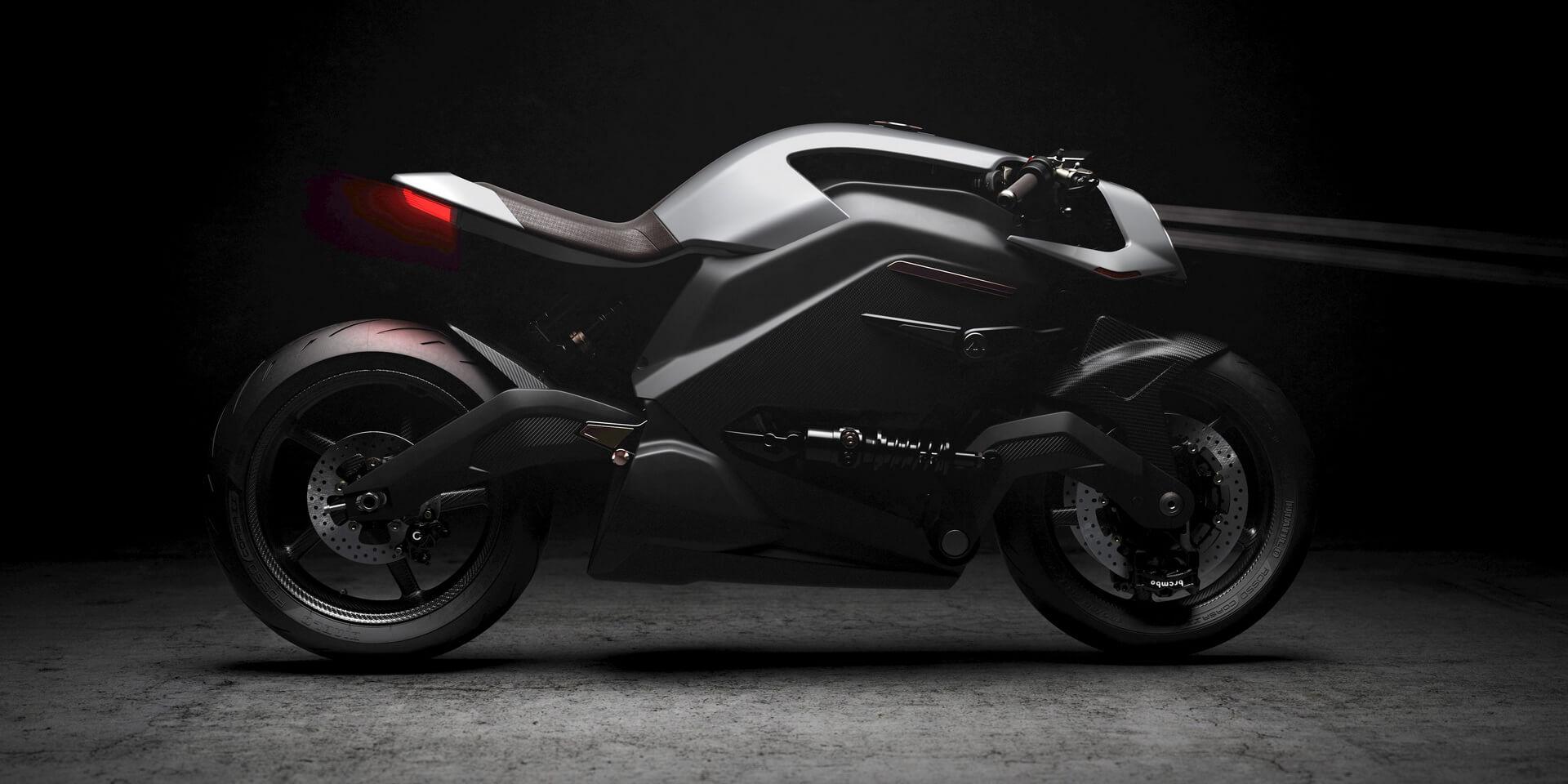 Электрический мотоцикл Arc Vector сускорением 2,7 сек до100км/ч