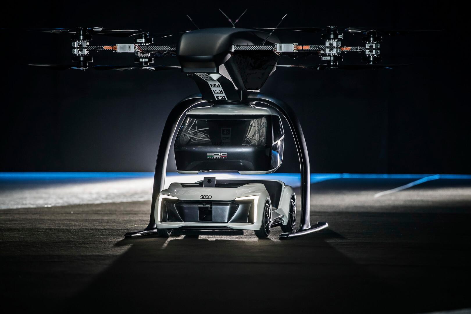 Audi, Airbus и Italdesign вместе работают над электрическим концептом «летающего такси»