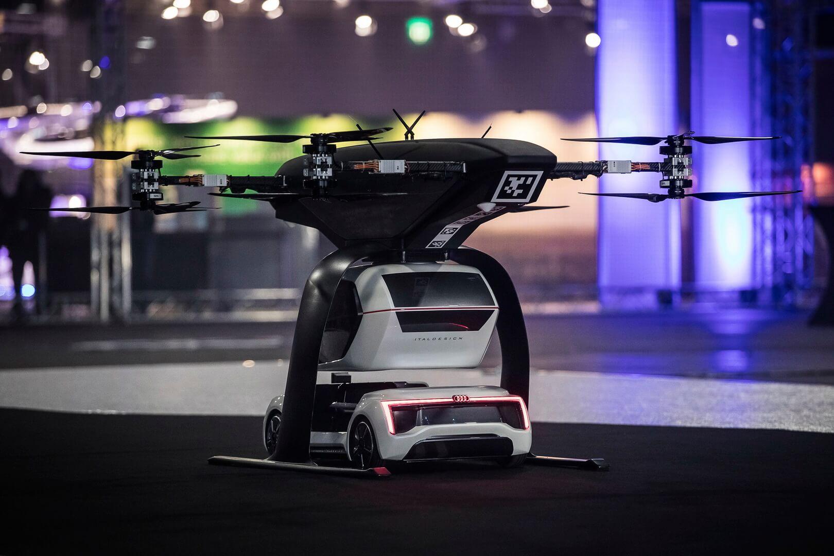 Электрическое дрон-такси Audi