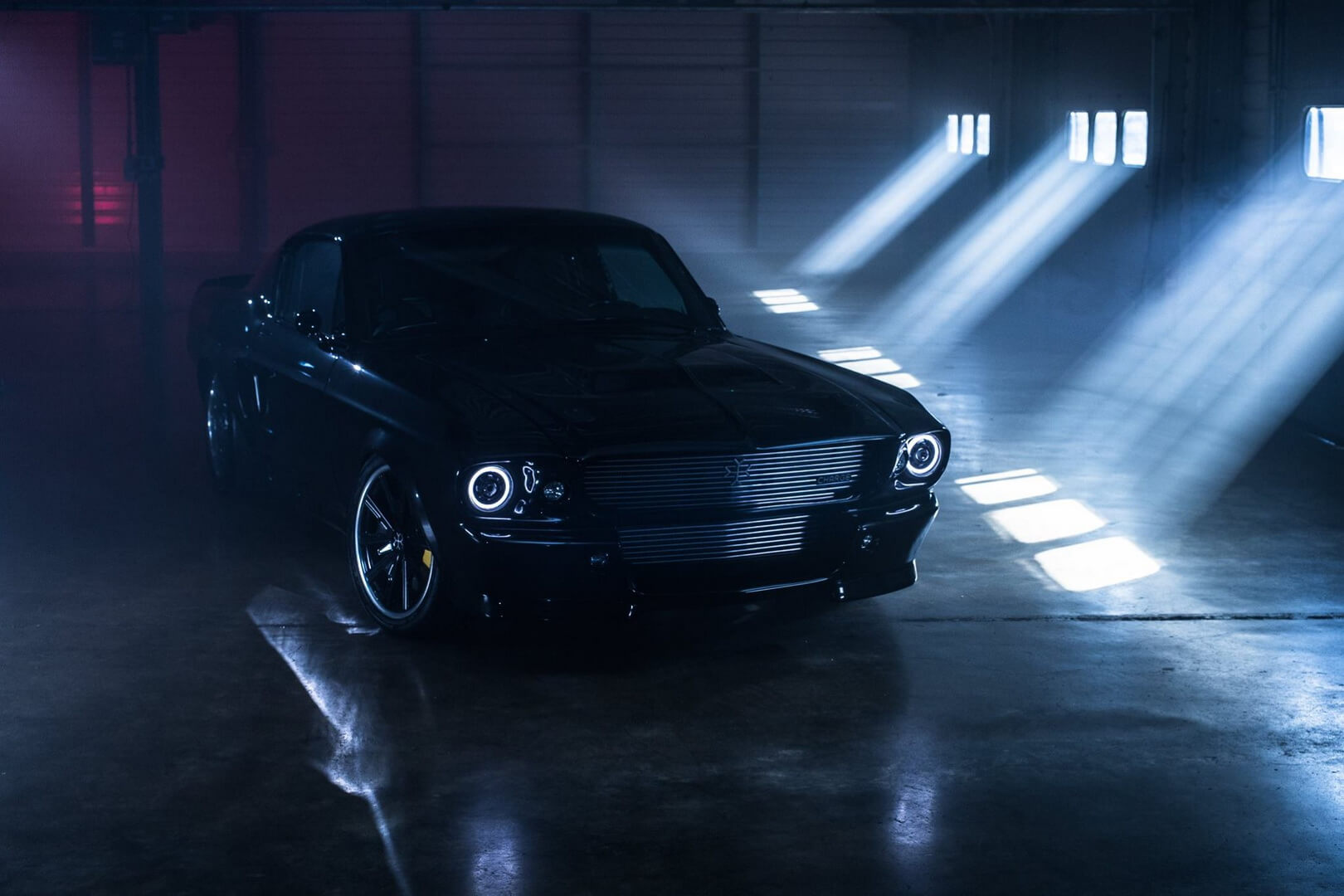 Электрический Ford Mustang 1960-х годов