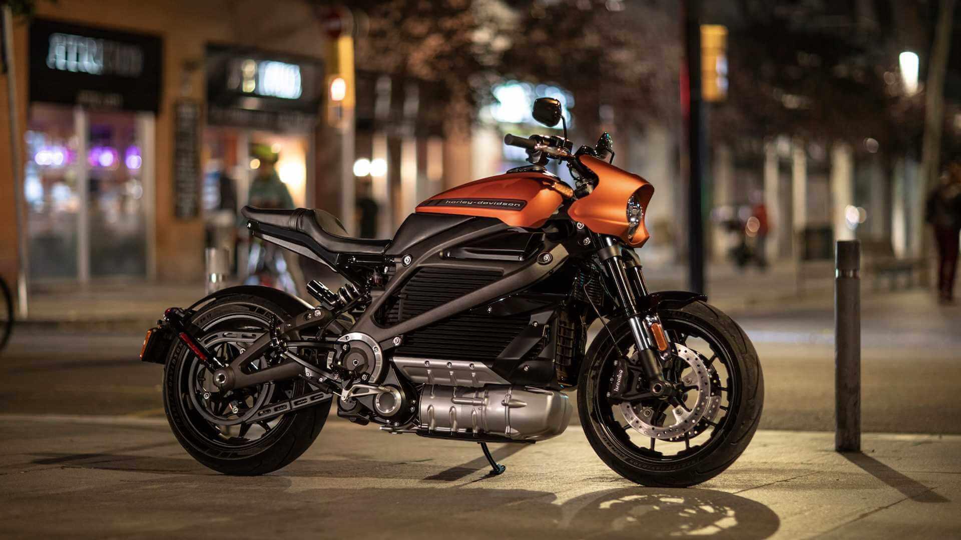 Электрический мотоцикл Harley-Davidson LiveWire
