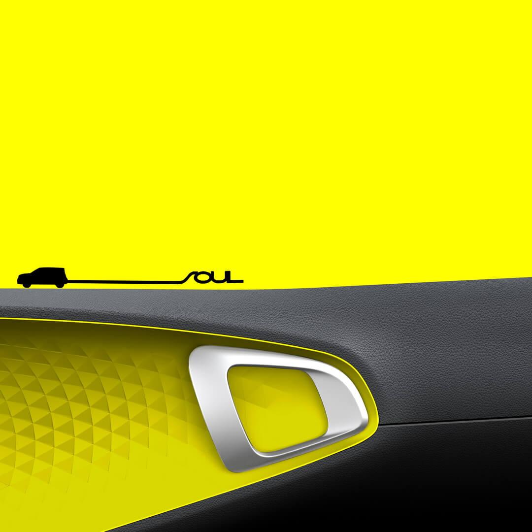 Дизайн экстерьера электромобиля Kia Soul 2019