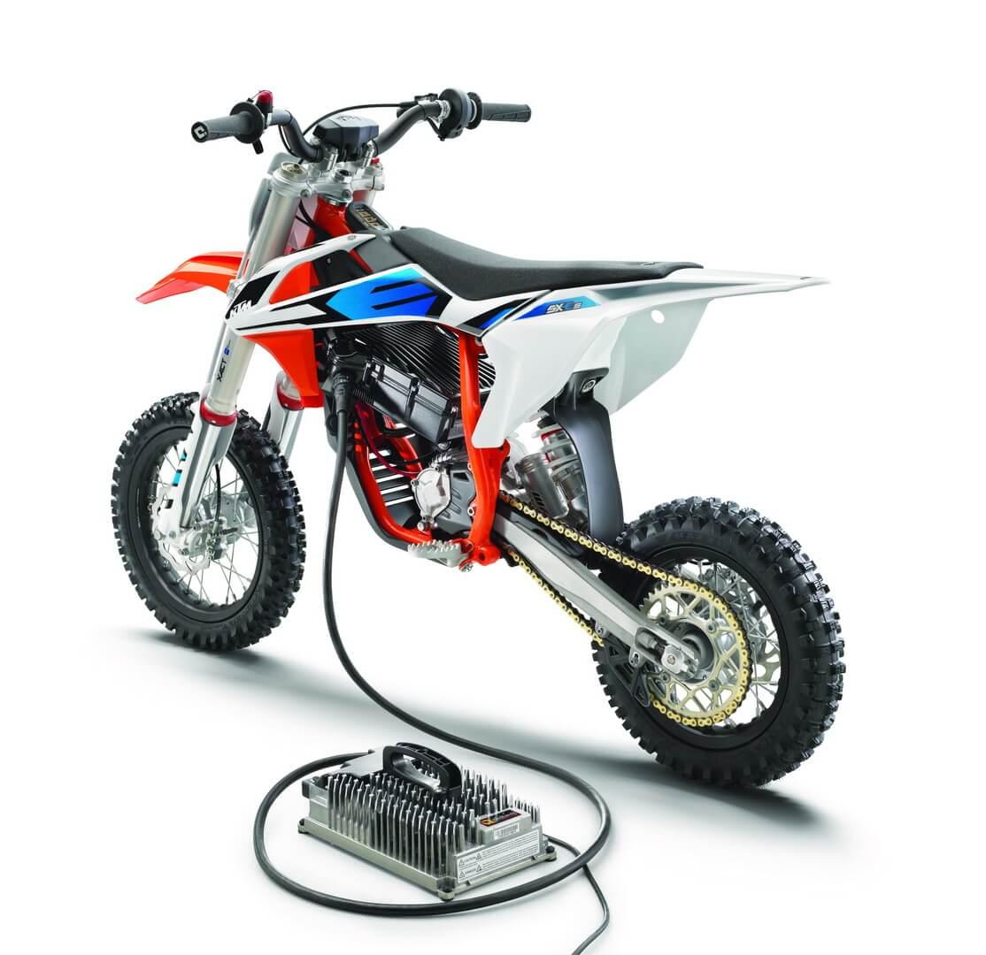 Электрическим мотоцикл KTM SX-E 5Mini Motocross5