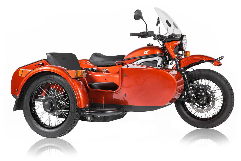 Электрический мотоцикл Ural - фото 3