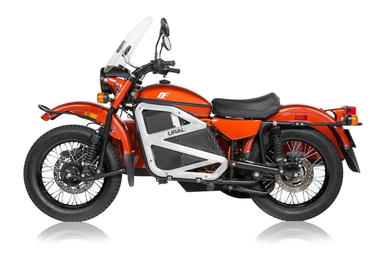 Электрический мотоцикл Ural - фото 6