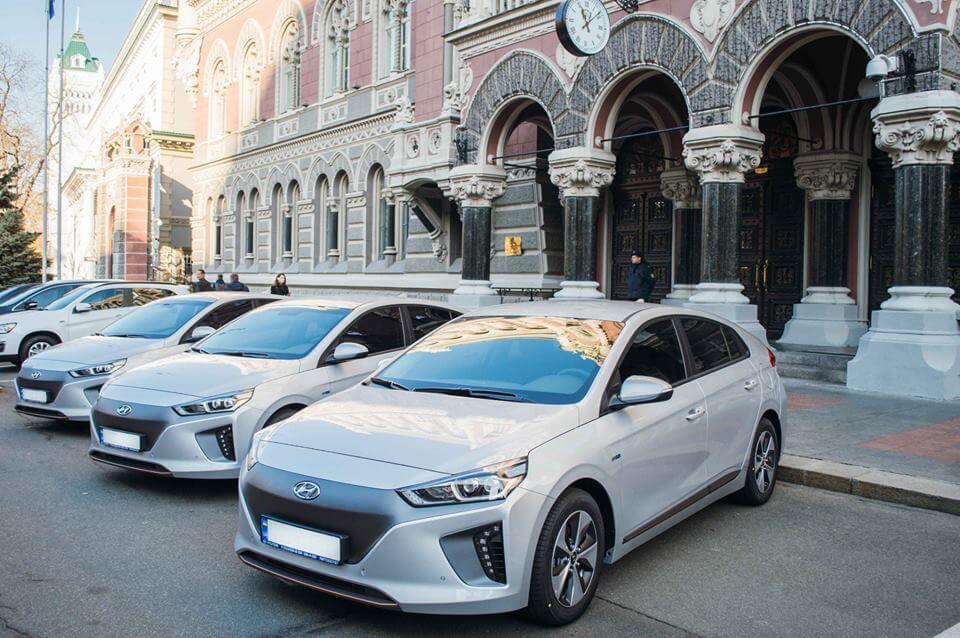 Электромобили Hyundai Ioniq Electric