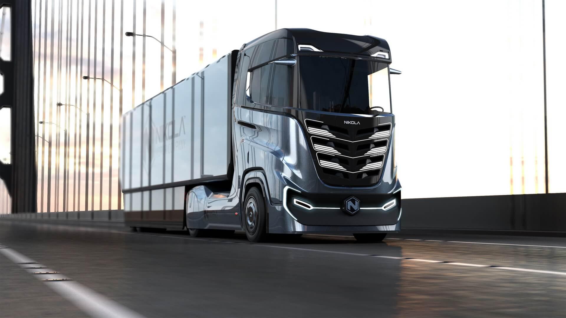 Nikola Tre: грузовик на топливных элементах для Европы