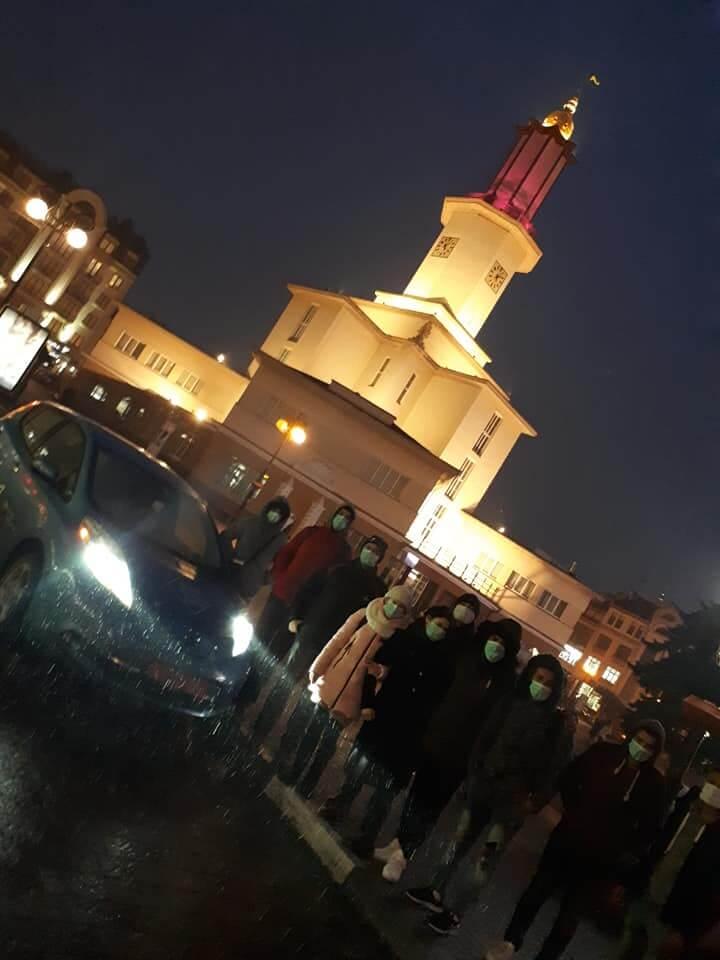 Сбор электромобилистов в Ивано-Франковске