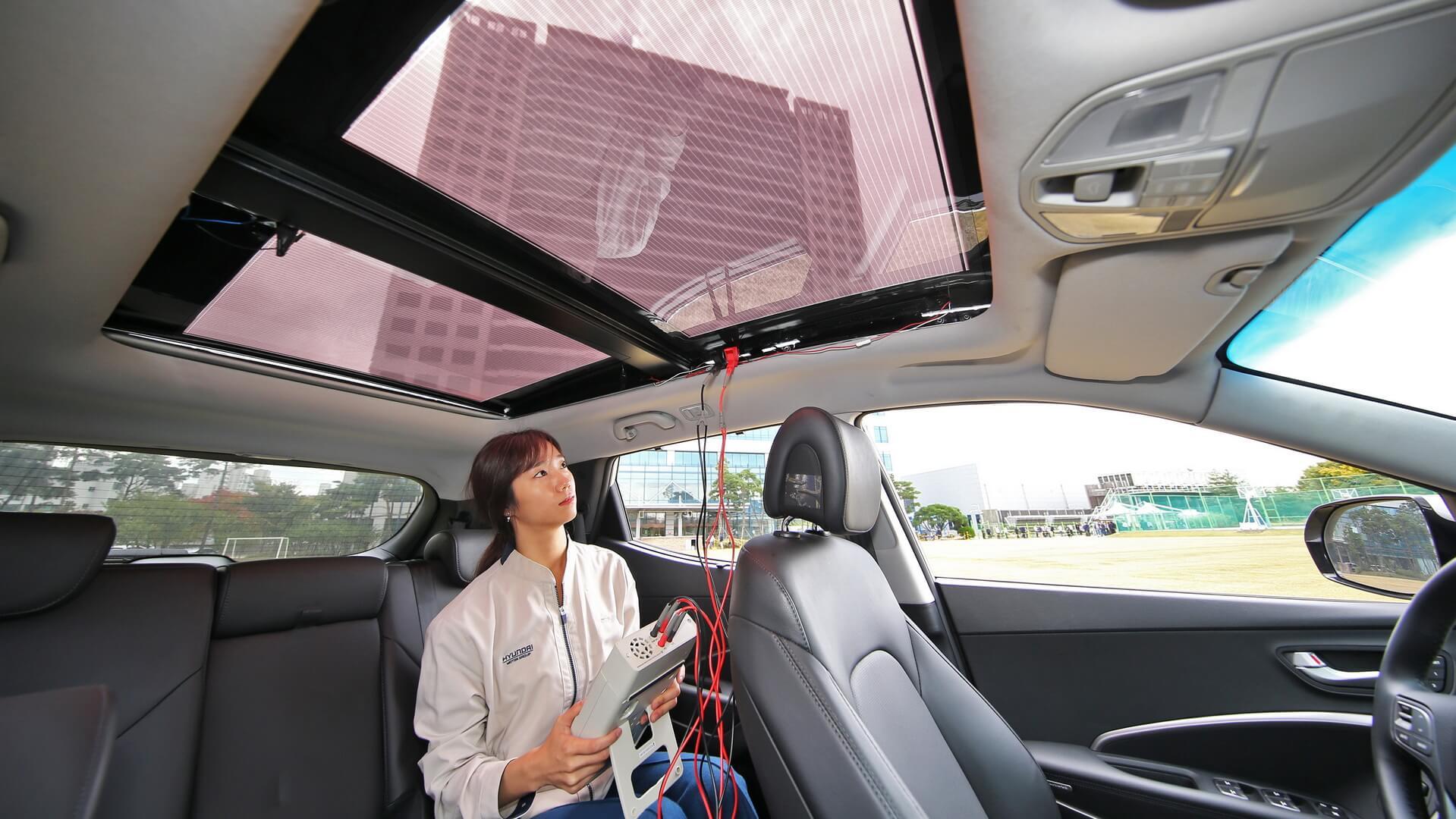 Солнечные панели вместо крыш в автомобилях