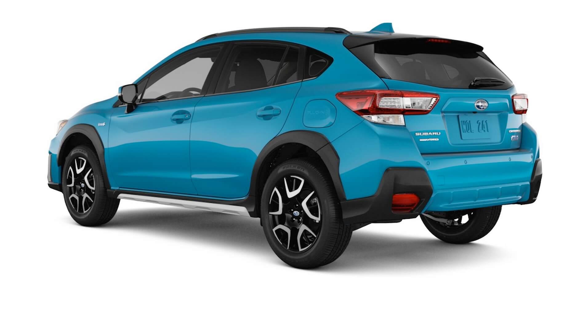 Фотография экоавто Subaru Crosstrek Hybrid - фото 8