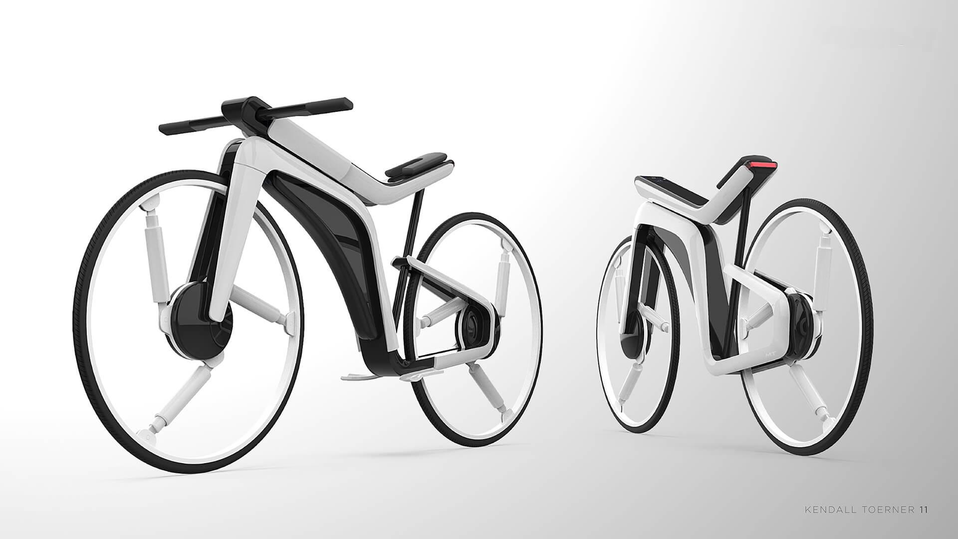 Электрический велосипед Tesla Model B