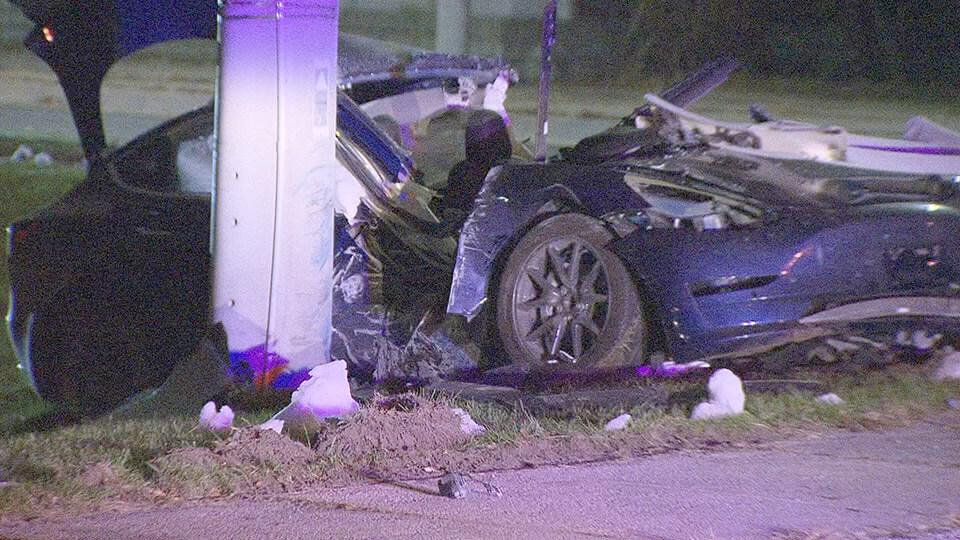 Tesla Model 3попала вжуткую аварию