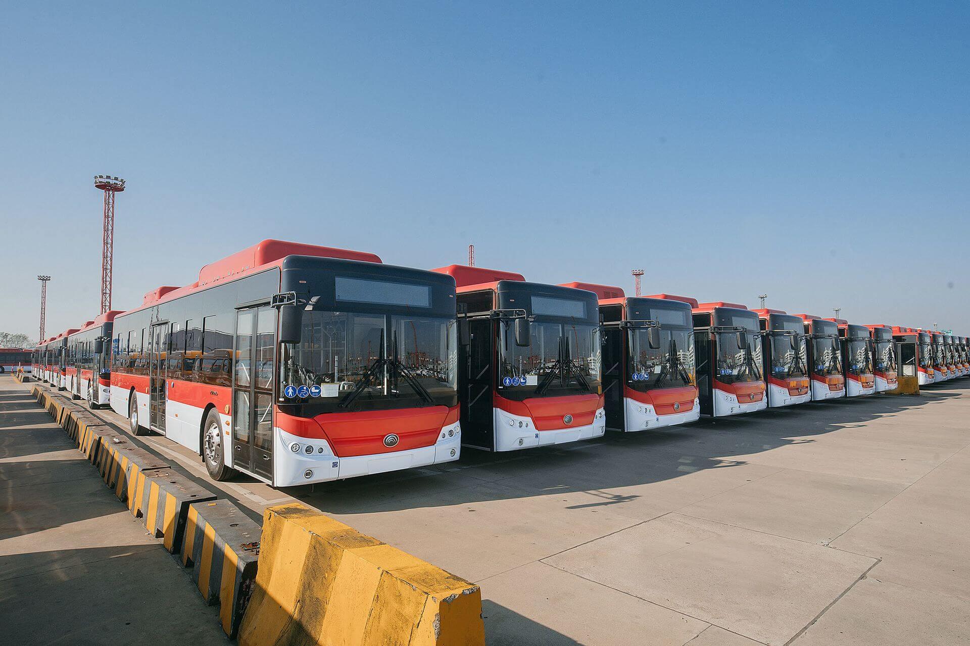 Электрические автобусы Yutong Е12