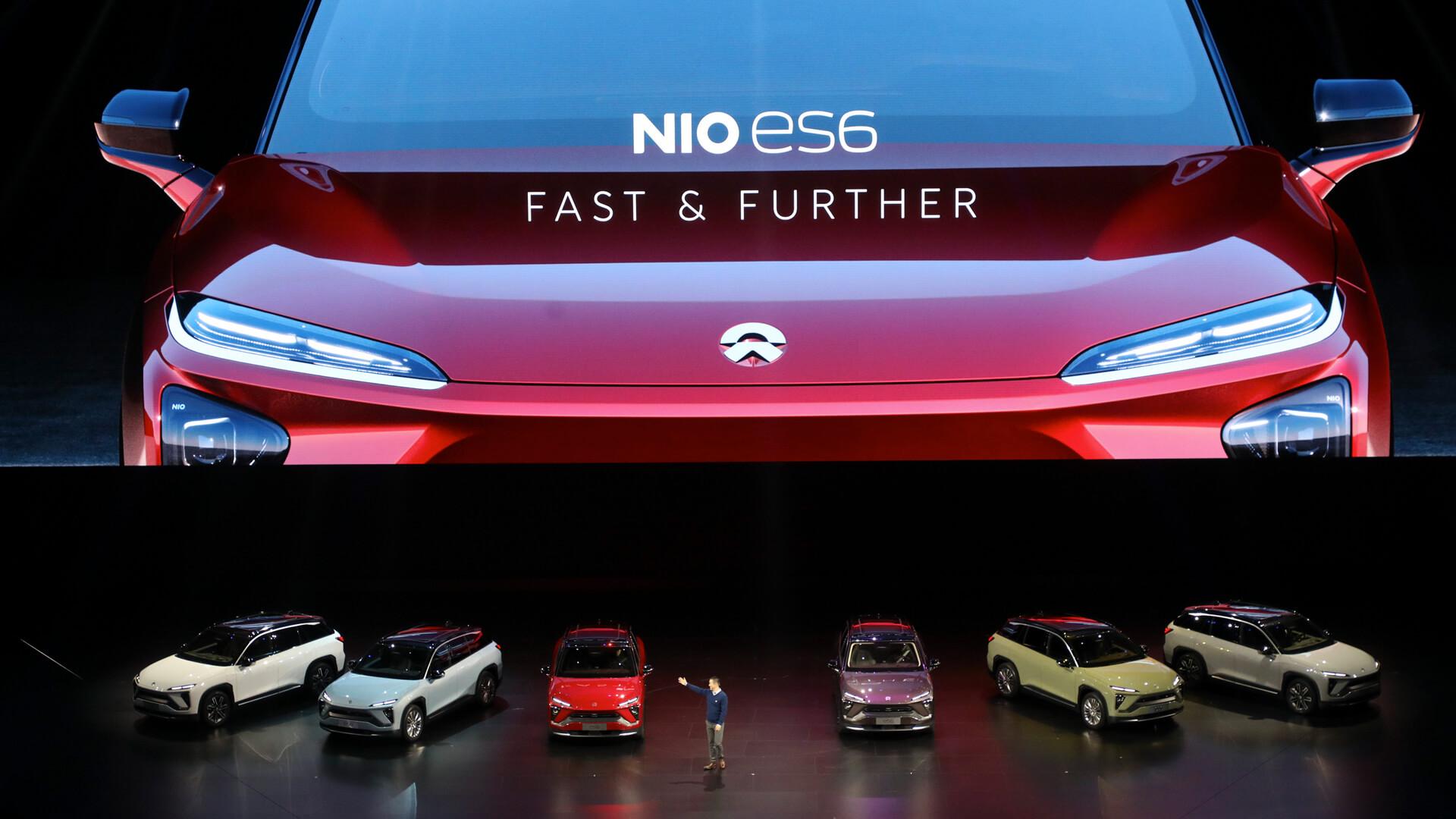 Стартап по производству электромобилей NIO