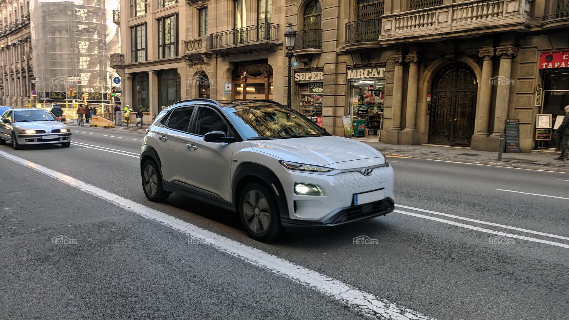 Электрокроссовер Hyundai Kona Electric