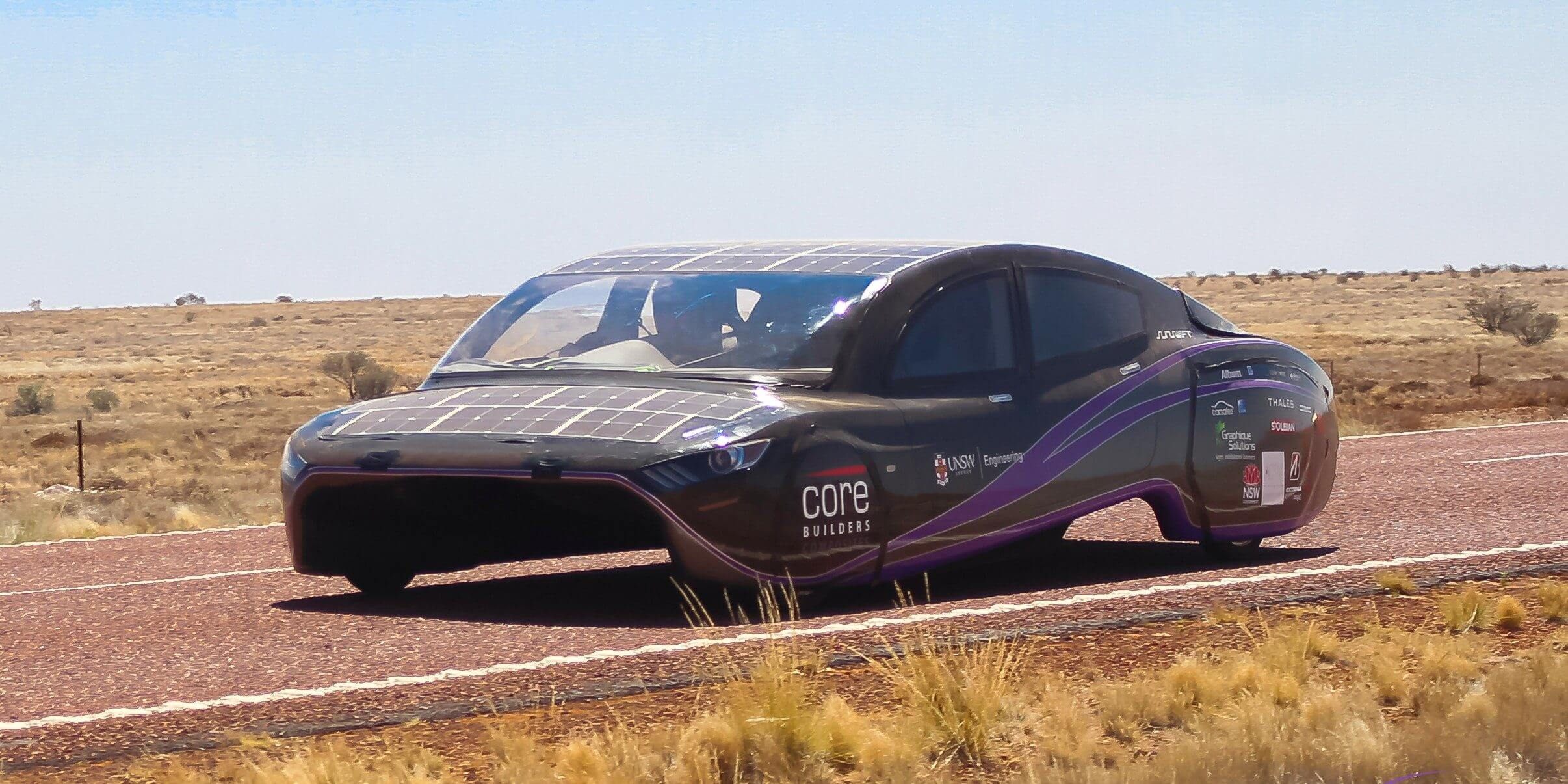 Электромобиль на солнечных батареях Violet