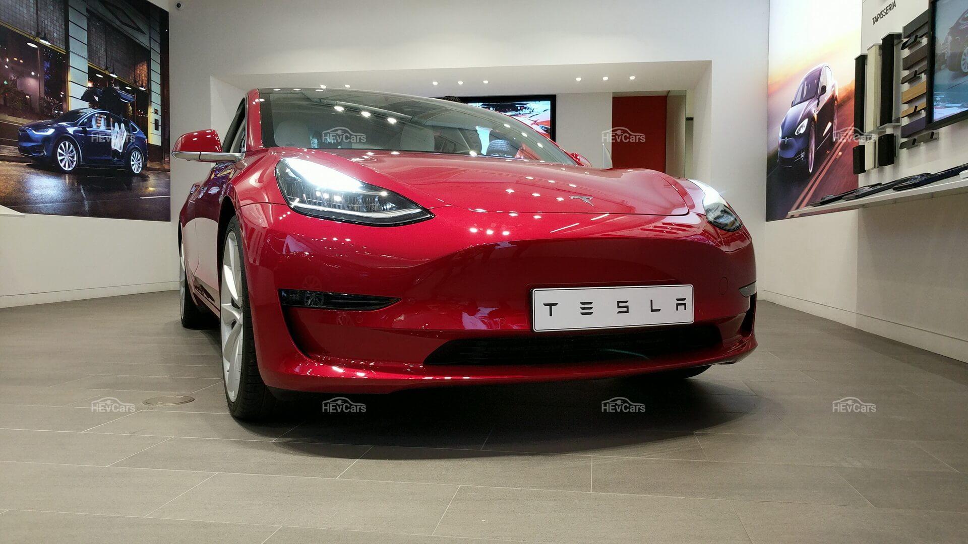 Фотография экоавто Tesla Model 3 Performance
