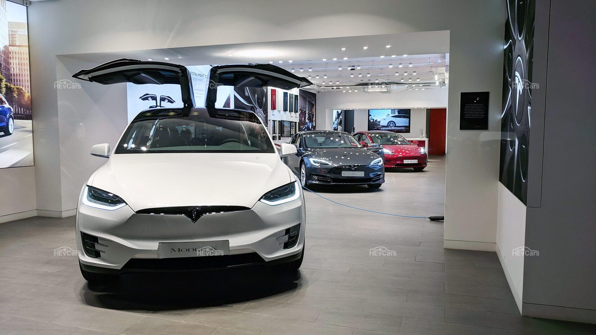 Модели Tesla