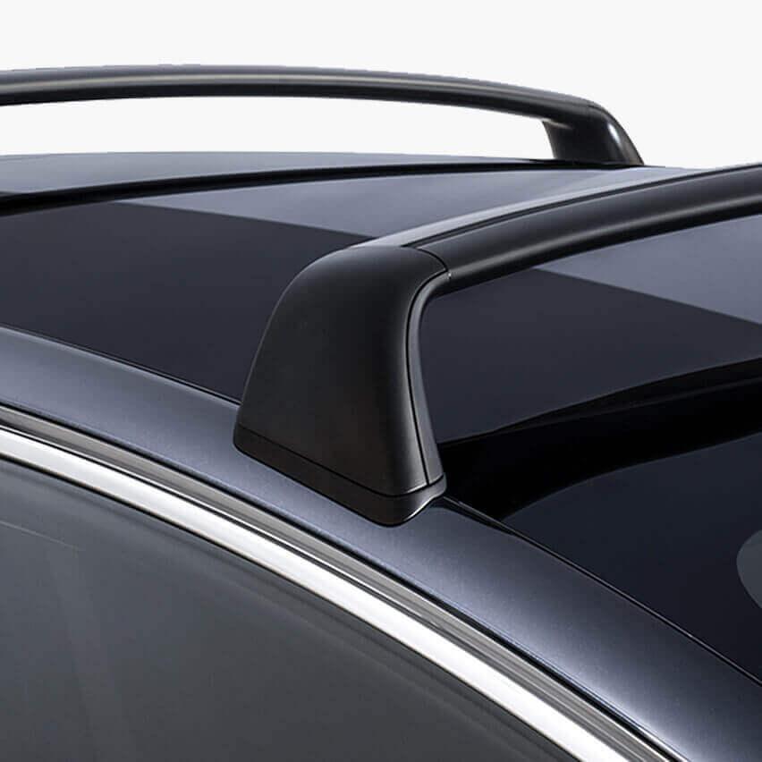 Багажник накрышу электромобиля Tesla Model 3