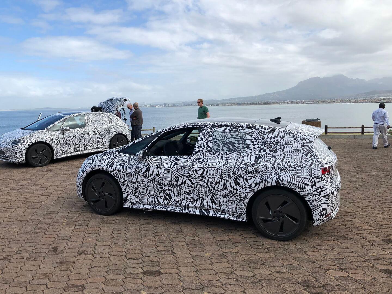 Электромобиль Volkswagen ID на тесте в Южной Африке