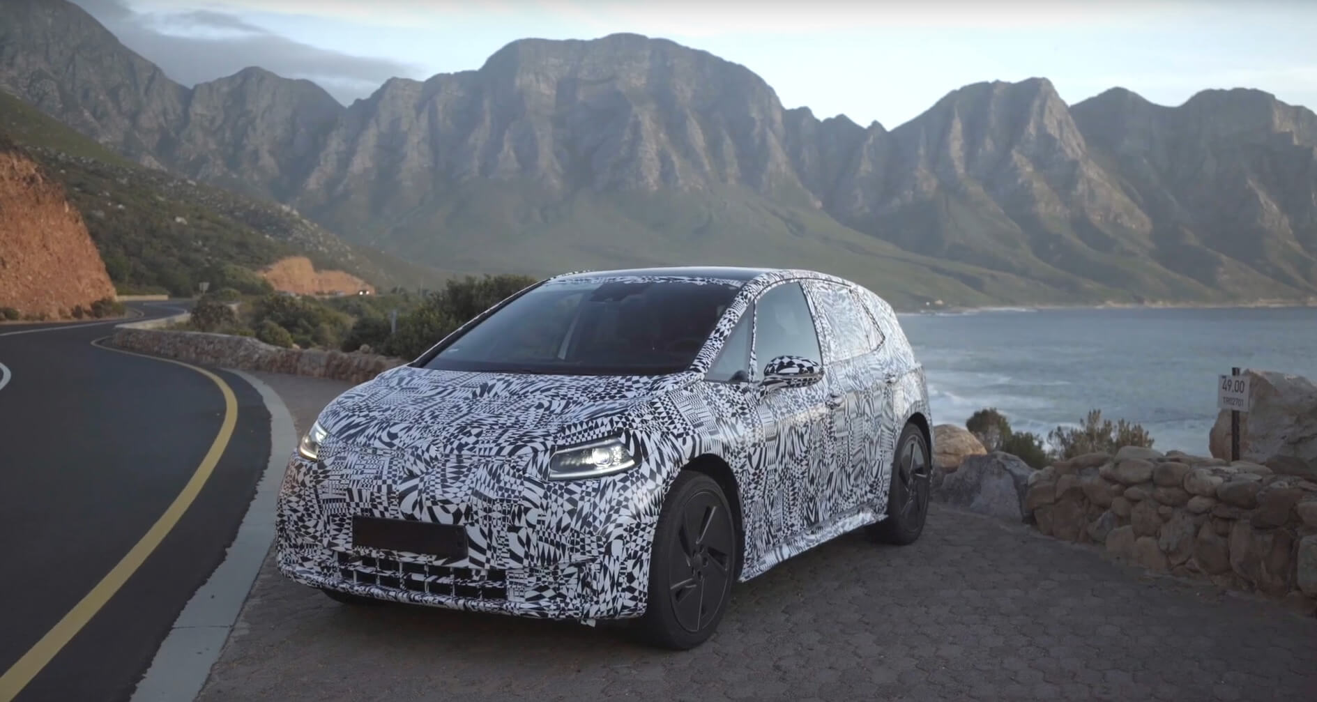 VW тестирует электрокар серии ID - фото 2