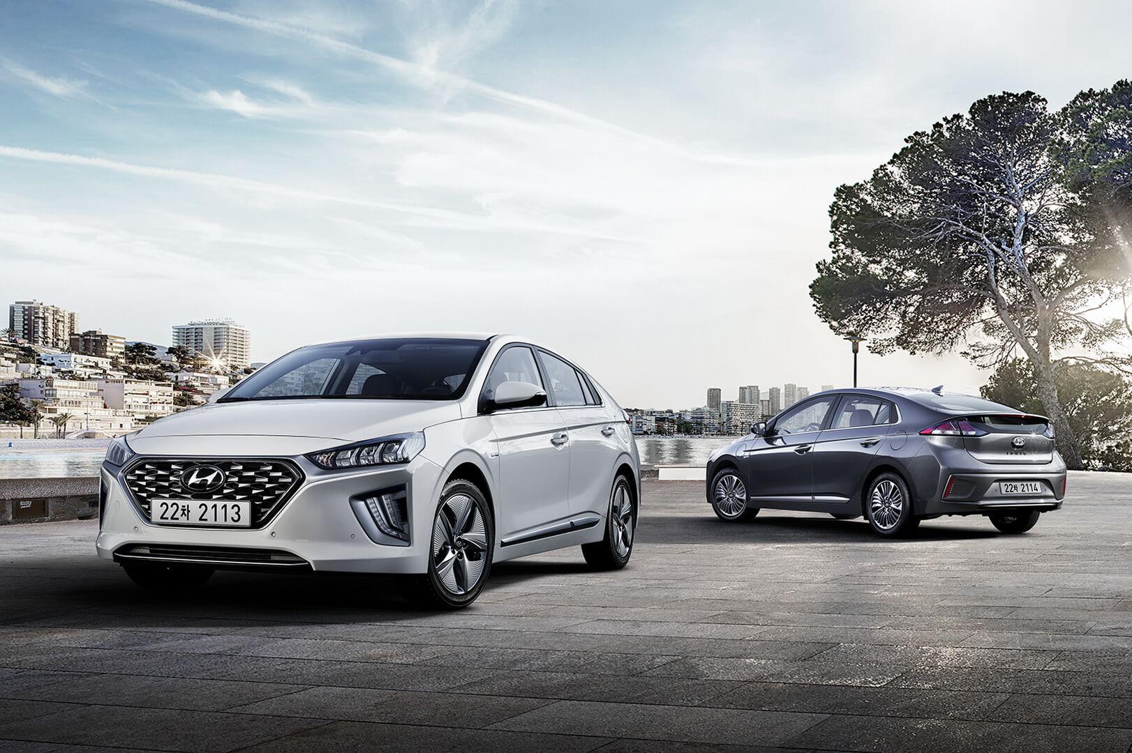 Новые гибриды и плагин-гибриды Hyundai IONIQ 2019 года