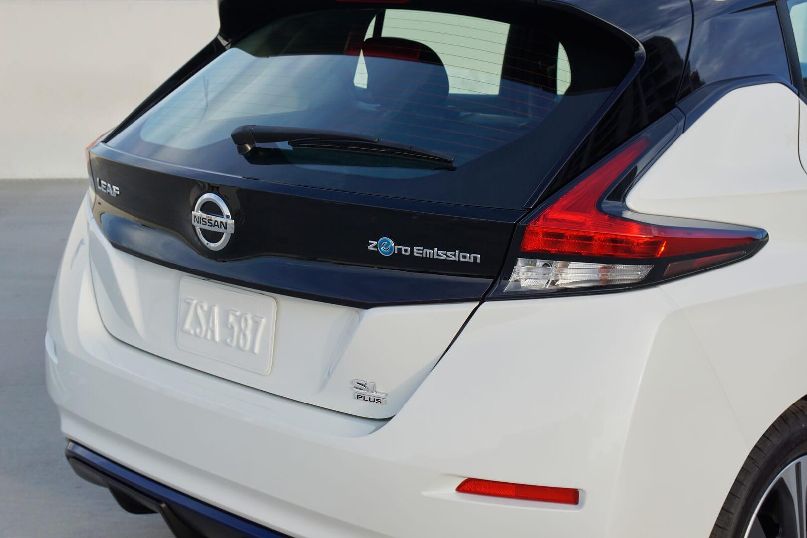 Дизайн экстерьера Nissan Leaf e+2019 с батареей 62кВт⋅ч - фото 3