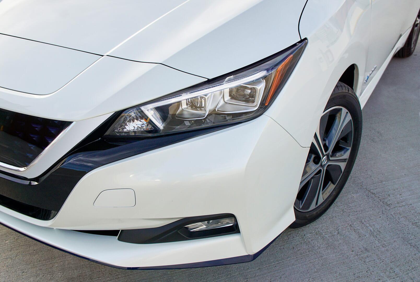 Дизайн экстерьера Nissan Leaf e+2019