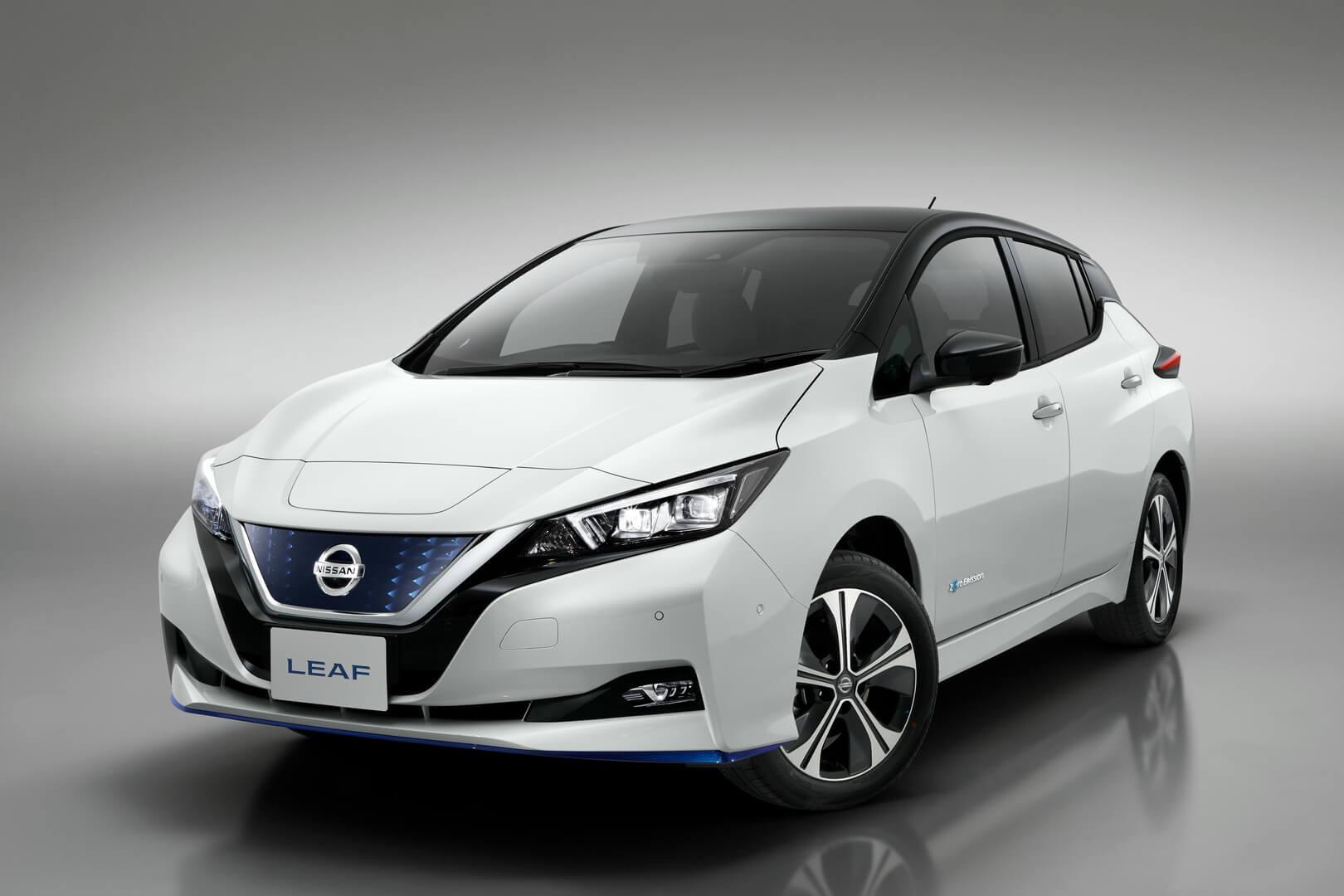 Nissan Leaf e+ 2019 (62кВт⋅ч)