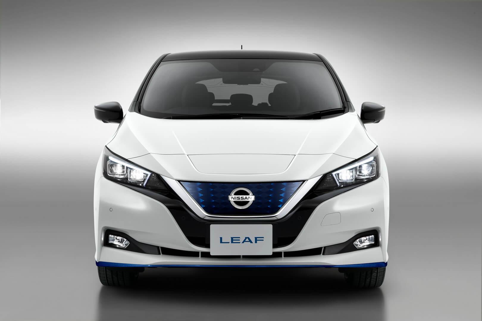 Фотография экоавто Nissan Leaf e+ 2019 (62 кВт⋅ч) - фото 2
