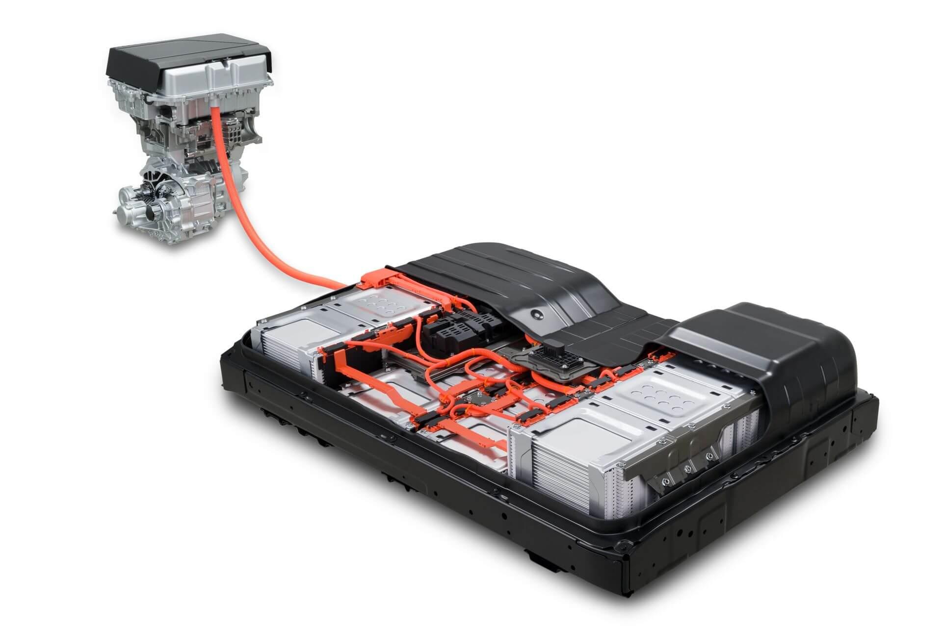 Силовая установка Nissan Leaf e+ 2019 на 62 кВт⋅ч - вид 2