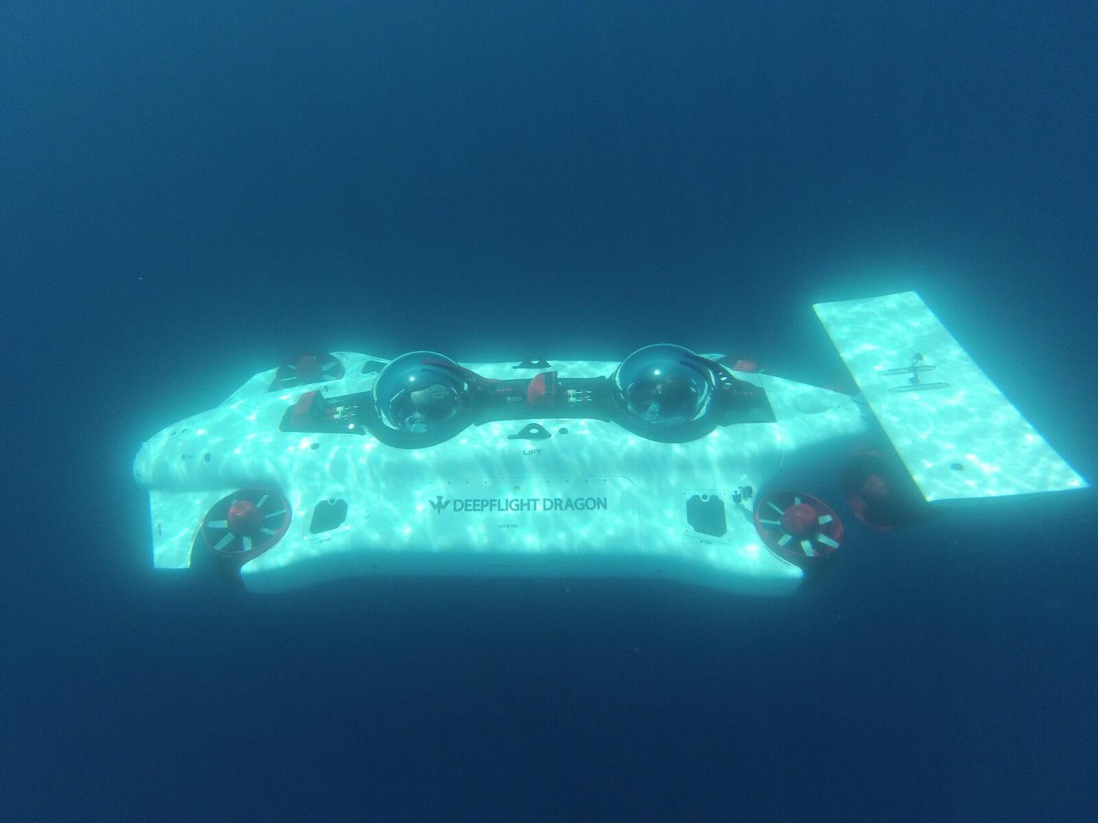 Электрическая субмарина DeepFlightDragon - фото 2