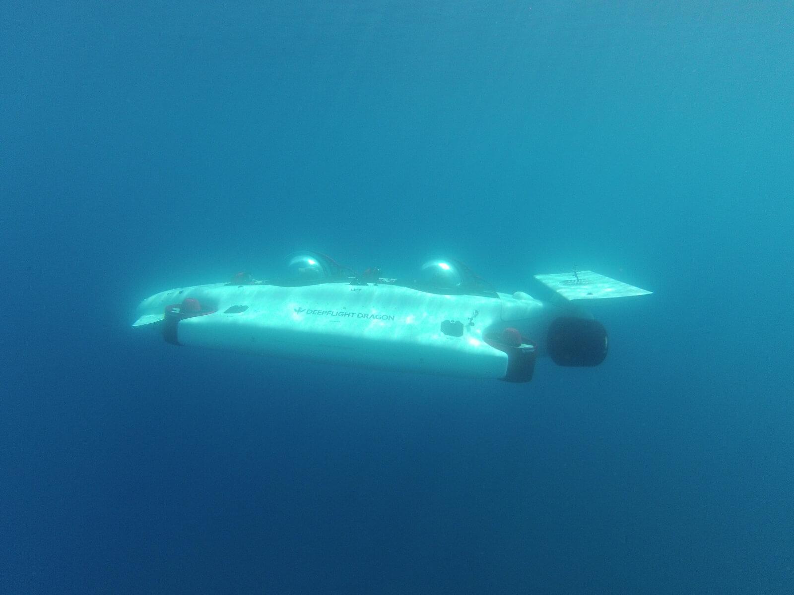 Электрическая субмарина DeepFlightDragon - фото 3