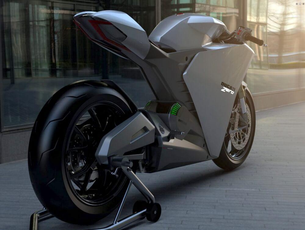 Концепт электрического мотоцикла Ducati Zero - фото 3