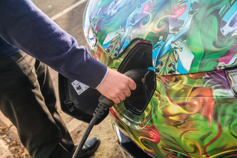 Порт зарядки электромобиля Renault Zoe