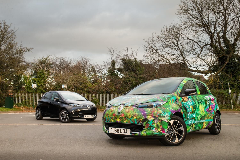 Europcar добавляет в автопарк 85 электромобилей Renault Zoe