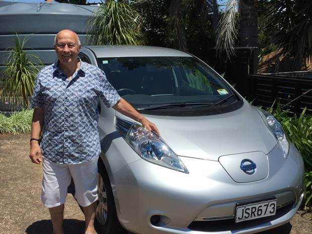 Верн Уайтхед, представитель группы движения Electric Island Waiheke