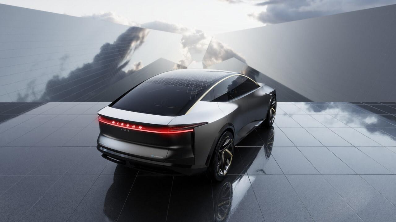 Будущий электромобиль Nissan IMs
