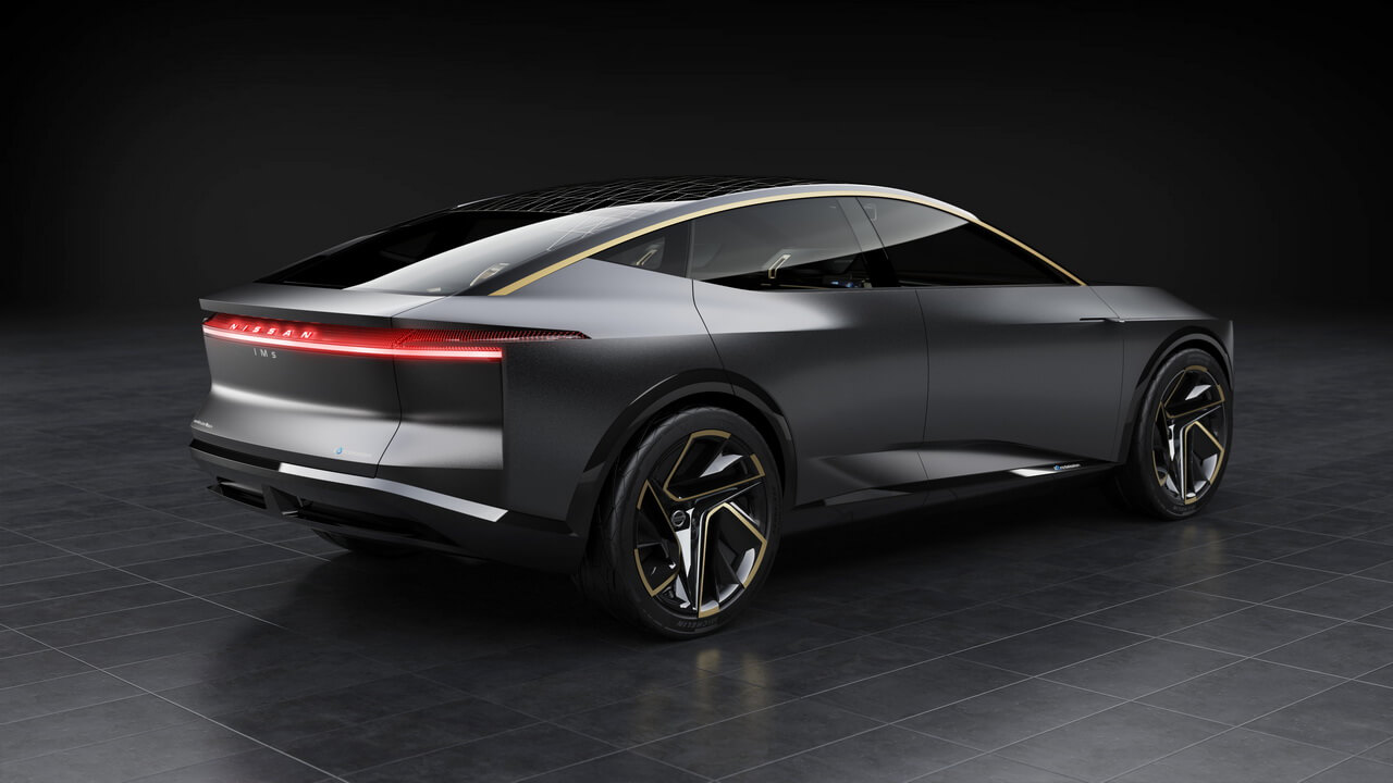 Электромобиль Nissan IMs - вид 2