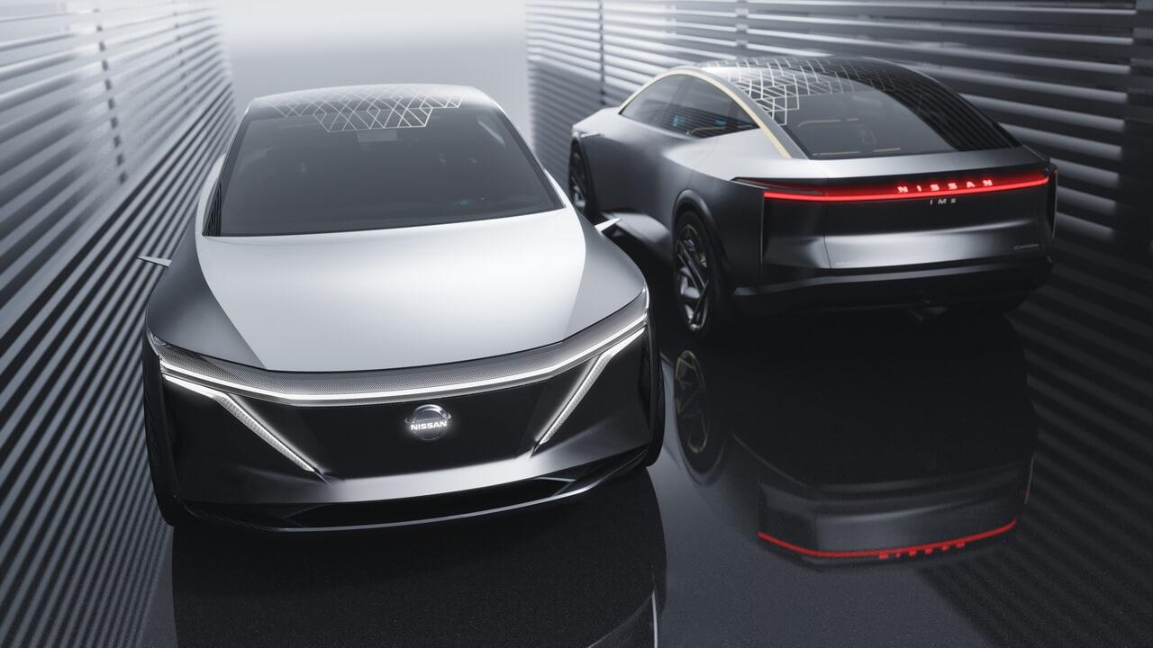 Концепт электрического спортивного седана Nissan IMs