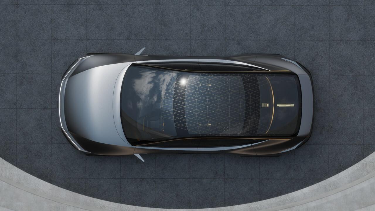Электрический концепт «высокого спортивного седана» Nissan IMs