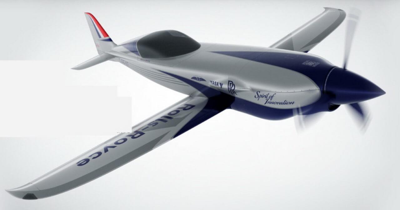 Rolls Royce построит самый быстрый вмире полностью электрический самолет